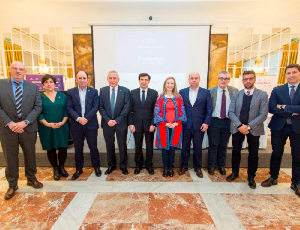 Desayuno Empresarial de Navarra Capital con el presidente de Mondragón y el patrocinio de Ecay Construcciones