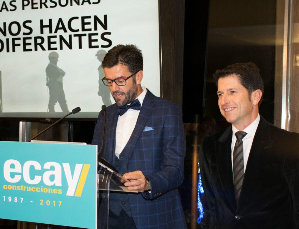 Ecay Construcciones celebra su treinta aniversario