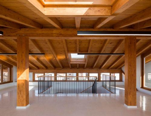 Finaliza la reforma del Edificio de Coworking de Zizur Mayor