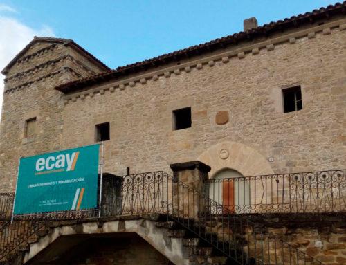 Comienzan las obras de rehabilitación y restauración del Palacio de Olza
