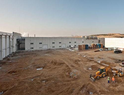 Ecay Construcciones construye una nueva nave industrial para Congelados Navarra