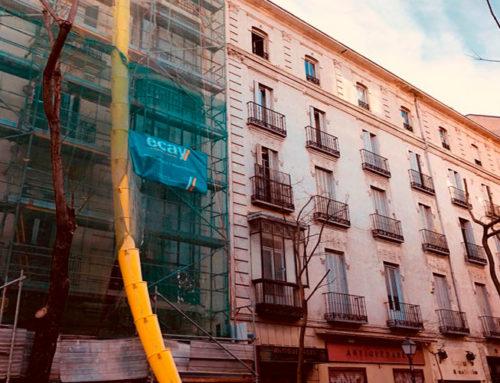 REHABILITACIÓN DE EDIFICIO C/LAGASCA. MADRID