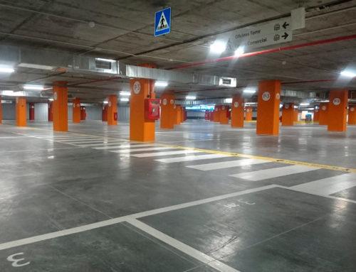ADECUACIÓN A PARKING DE PLANTA SÓTANO 4 EN TORRE SEVILLA