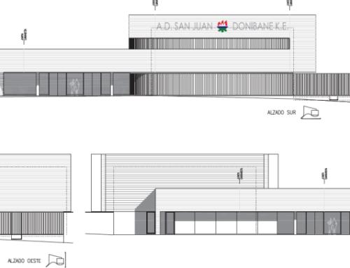 Ecay Construcciones comenzará en breve la ampliación de la A.D. San Juan