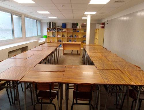 Ecay Construcciones entrega las obras de reforma en el Colegio El Redín