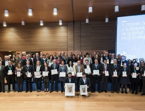 Ecay Construcciones, una de las empresas reconocidas en los X Premios Azul de Mutua Navarra por su compromiso con la salud como valor estratégico