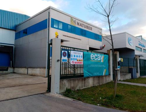 Ecay Construcciones comienza la ampliación de las instalaciones de Natuber