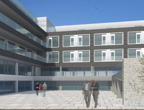 Ecay Construcciones se adjudica la construcción de la nueva residencia de mayores de DomusVi en Pamplona