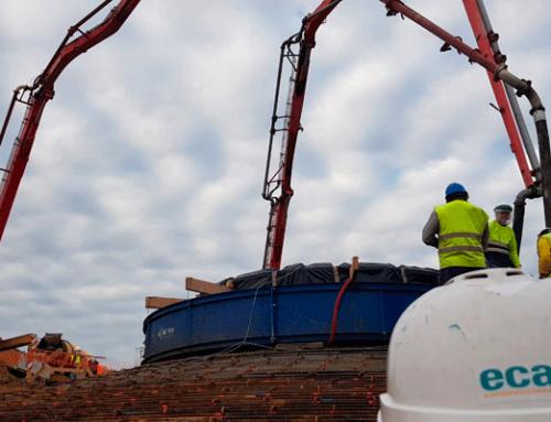 Ecay Construcciones ejecuta la obra civil del parque eólico Puylobo en Borja (Zaragoza)