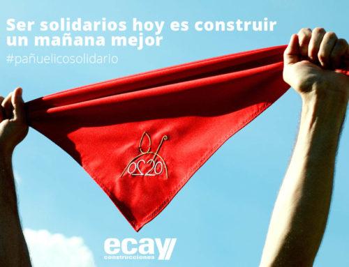 """Ecay Construcciones se une a la iniciativa del """"pañuelico solidario"""""""