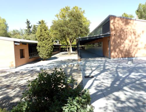 Entrega de las obras de ejecución y ampliación de pabellones en el Colegio Tajamar de Madrid