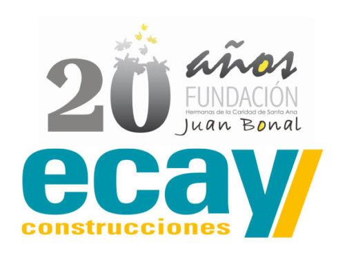 Ecay Construcciones felicita a la Fundación Juan Bonal en su XX aniversario