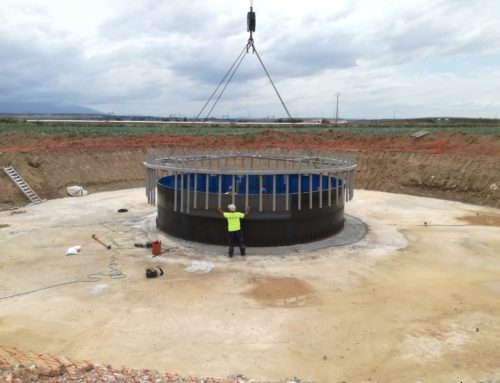 Ecay Construcciones lleva a cabo la obra civil para la implantación de 11 aerogeneradores en el Parque Eólico de Pestriz de Buñuel