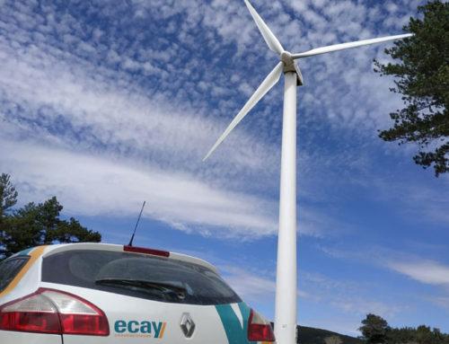 Ecay Construcciones finaliza la instalación del aerogenerador SG155 en el Parque Eólico Experimental Las Balsas