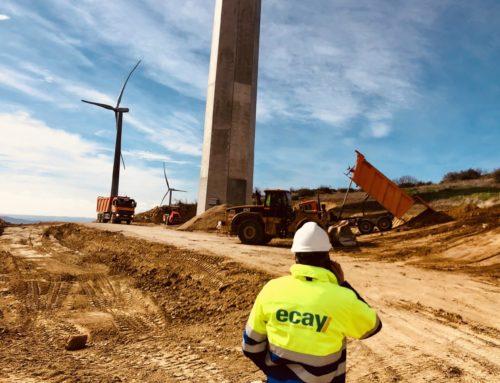 Ecay Construcciones inicia la restauración ambiental del Parque Eólico de Barasoain y Tirapu