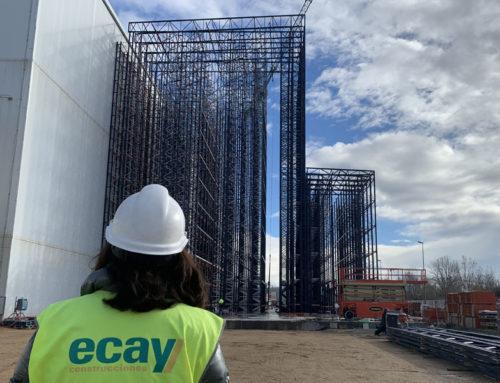 Ecay Construcciones inicia tres nuevas obras en el sector industrial donde sigue siendo un referente para las empresas