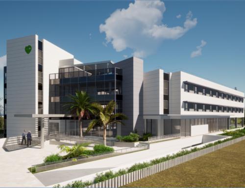 """""""Ecay Construcciones amplía su cartera de negocio en la ejecución de centros de mayores iniciando la construcción de la nueva residencia de DomusVi en Murcia"""